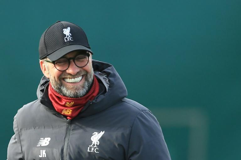 Kindergarten Klopp: Reds ready for Atletico, says German boss (AFP Photo/Lindsey Parnaby)
