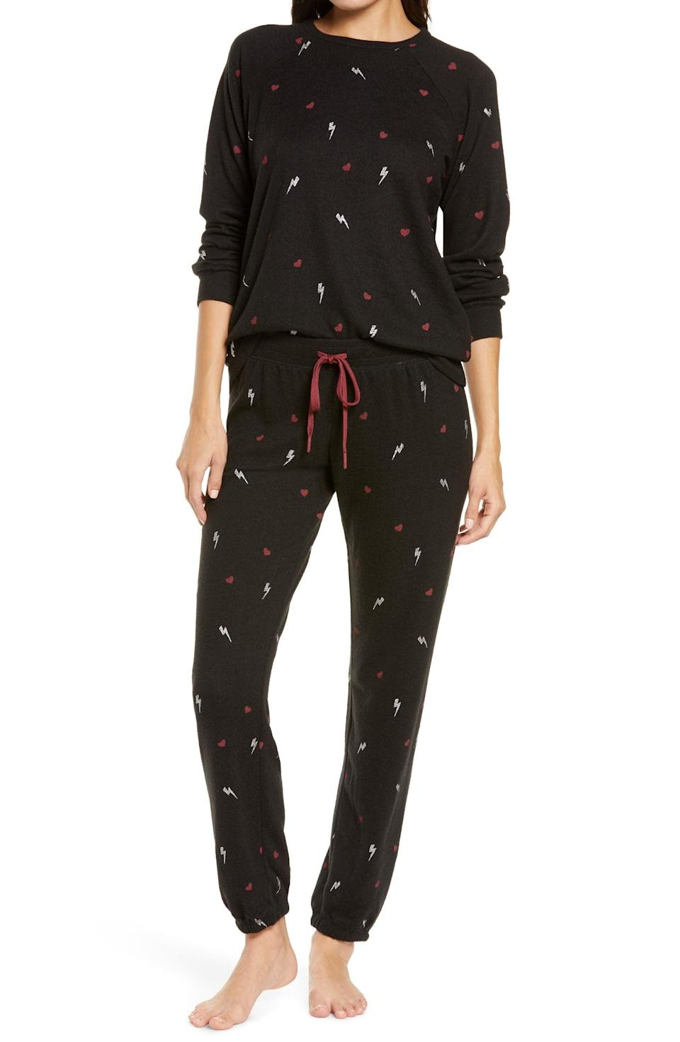 <p>They'll want to curl up in these <span>PJ Salvage Peachy Pajamas</span> ($98).</p>