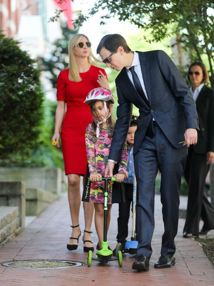 arabella kushner ivanka trump john galliano dress