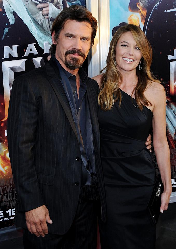 "<a href=""http://movies.yahoo.com/movie/contributor/1800019611"">Josh Brolin</a> and <a href=""http://movies.yahoo.com/movie/contributor/1800020036"">Diane Lane</a> at the Los Angeles premiere of <a href=""http://movies.yahoo.com/movie/1810080165/info"">Jonah Hex</a> - 06/17/2010"