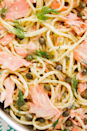 """<p>Smoked Salmon Pasta pasta sounds really fancy, but the truth is, it's the easiest and fastest pasta we've ever made.</p><p>Get the <a href=""""https://www.delish.com/uk/cooking/recipes/a29844059/smoked-salmon-pasta-recipe/"""" rel=""""nofollow noopener"""" target=""""_blank"""" data-ylk=""""slk:Smoked Salmon Pasta"""" class=""""link rapid-noclick-resp"""">Smoked Salmon Pasta</a> recipe.</p>"""
