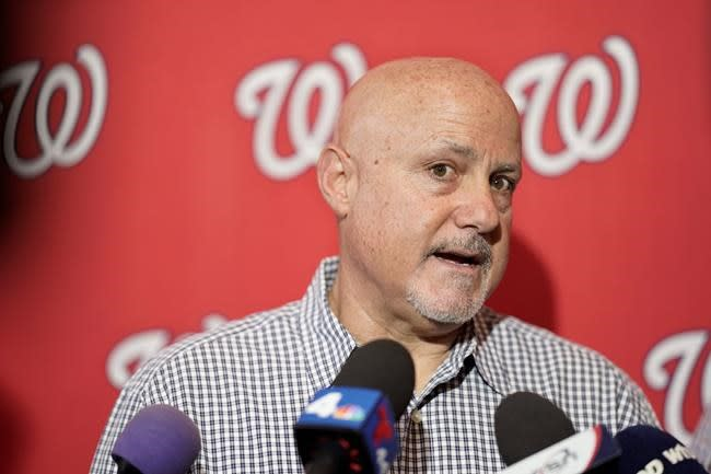 Nationals give multiyear extension to GM Mike Rizzo