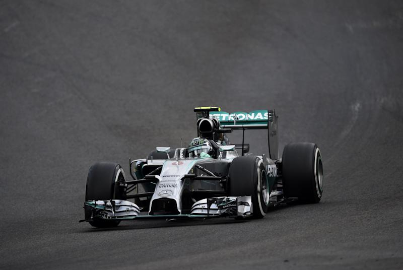 Formula One - Rosberg on pole for Belgian GP