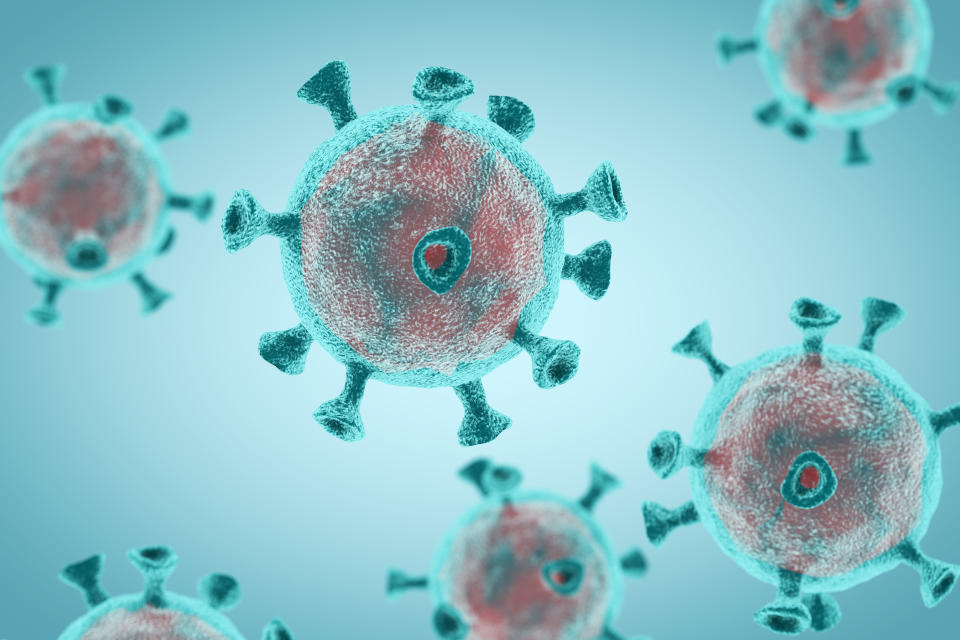 Although unclear, the coronavirus may enter the brain or trigger inflammation that affects the vital organ. (Stock, Getty Images)
