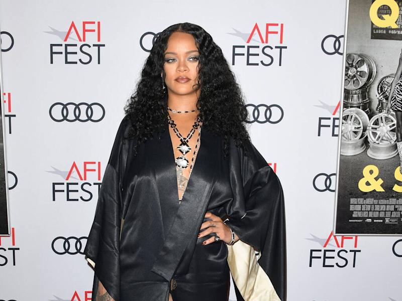 Rihanna's Fenty label wins Urban Luxe prize at The Fashion Awards 2019