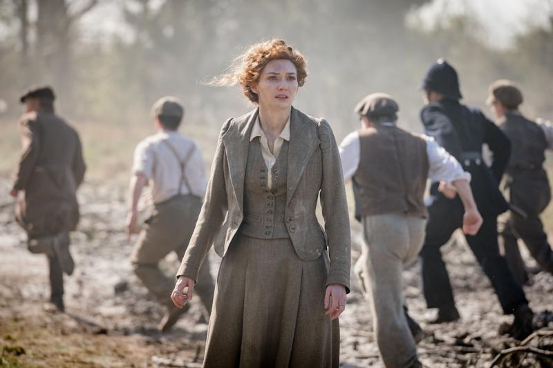 Eleanor Tomlinson's character Amy was named after author H.G. Wells' wife. (Photo: BBC/© Mammoth Screen 2018)