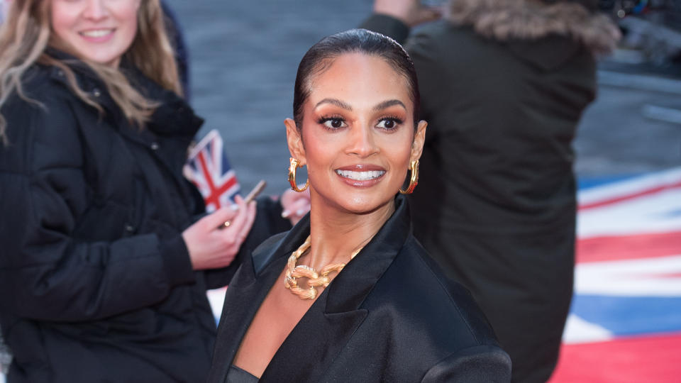 Alesha Dixon said she wants her daughters to be able to see her perform on stage. (Jeff Spicer/WireImage)