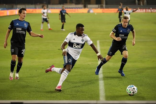Earthquakes beat Whitecaps 3-0 for third straight win