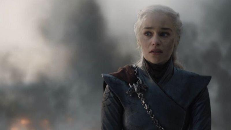 Emilia Clarke as Daenerys in Game of Thrones (Credit: HBO)