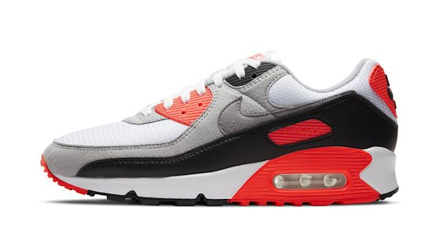 The Classic Nike Air Max 90 'Radiant Red' — Now Known as the Air ...