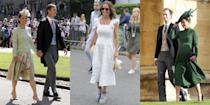 """<p>Pippa Middleton may best be known for her <a rel=""""nofollow noopener"""" href=""""https://www.harpersbazaar.com/wedding/photos/g1522/kate-middleton-prince-william-wedding-photos/?slide=10"""" target=""""_blank"""" data-ylk=""""slk:jaw dropping"""" class=""""link rapid-noclick-resp"""">jaw dropping</a> Maid of Honor dress at sister Kate Middleton's wedding, or as a doting aunt to the Duchess of Cambridge's three royal children (Prince George, Princess Charlotte, and Prince Louis). But now, she's a first-time mother herself. Middleton <a rel=""""nofollow noopener"""" href=""""https://www.harpersbazaar.com/wedding/photos/a9899155/pippa-middleton-wedding-james-matthews/"""" target=""""_blank"""" data-ylk=""""slk:wed husband James Matthews"""" class=""""link rapid-noclick-resp"""">wed husband James Matthews</a> last year in London, and the couple just <a rel=""""nofollow noopener"""" href=""""https://www.harpersbazaar.com/celebrity/latest/a23627026/pippa-middleton-gives-birth-first-child/"""" target=""""_blank"""" data-ylk=""""slk:welcomed a baby boy"""" class=""""link rapid-noclick-resp"""">welcomed a baby boy</a> on October 15. Here, we take a look at all of the new mom's best maternity looks from the past nine months. Plus, read <a rel=""""nofollow noopener"""" href=""""https://www.harpersbazaar.com/celebrity/latest/a21211930/pippa-middleton-pregnant-first-baby/"""" target=""""_blank"""" data-ylk=""""slk:all of the details about the new baby"""" class=""""link rapid-noclick-resp"""">all of the details about the new baby</a>, and see <a rel=""""nofollow noopener"""" href=""""https://www.harpersbazaar.com/celebrity/latest/a23830775/pippa-middleton-birth-kate-middleton-prince-william-response/"""" target=""""_blank"""" data-ylk=""""slk:how the royal family is reacting"""" class=""""link rapid-noclick-resp"""">how the royal family is reacting</a> to the happy news. </p>"""