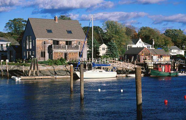 """<p>Maine is gorgeous in the summer, but it's even better in the fall and early winter. The weather's still mild, and it's far less crowded, so you won't have to wait in line for another lobster roll or cup of chowder! <a href=""""https://www.kennebunkport.org/"""" rel=""""nofollow noopener"""" target=""""_blank"""" data-ylk=""""slk:Kennebunkport"""" class=""""link rapid-noclick-resp"""">Kennebunkport</a> has tons of <a href=""""https://www.kennebunkport.org/gift_shops.htm"""" rel=""""nofollow noopener"""" target=""""_blank"""" data-ylk=""""slk:cute shops"""" class=""""link rapid-noclick-resp"""">cute shops</a> lining the walkable downtown area, or drive by the Bush estate and beautiful <a href=""""https://stannskennebunkport.org/"""" rel=""""nofollow noopener"""" target=""""_blank"""" data-ylk=""""slk:St. Ann's Historic Church"""" class=""""link rapid-noclick-resp"""">St. Ann's Historic Church</a>. No visit's complete without a stroll on lovely <a href=""""https://www.kennebunkport.org/beaches.htm"""" rel=""""nofollow noopener"""" target=""""_blank"""" data-ylk=""""slk:Goose Rocks beach"""" class=""""link rapid-noclick-resp"""">Goose Rocks beach</a>. For a cozy stay, book a room at the charming <a href=""""https://englishmeadowsinn.com/"""" rel=""""nofollow noopener"""" target=""""_blank"""" data-ylk=""""slk:Inn at English Meadows"""" class=""""link rapid-noclick-resp"""">Inn at English Meadows </a>Inn, just a few blocks from the center of everything. </p>"""