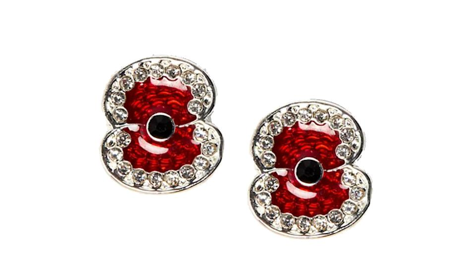 The Poppy Collection Hero Poppy Stud Earrings