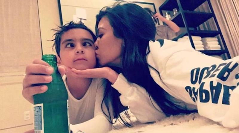 Mason Disick and Kourtney Kardashian | Kourtney Kardashian/Instagram