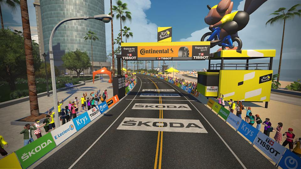 Zwift Tour de France Stage 1