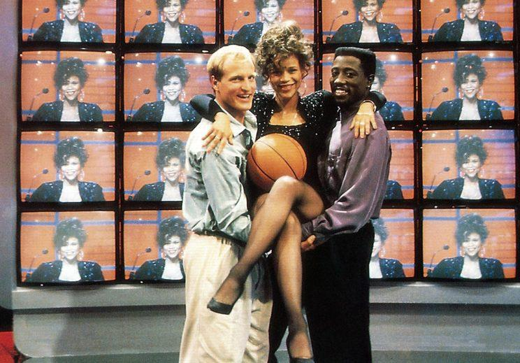 Harrelson, Snipes and Rosie Perez in 'White Men Can't Jump' (Photo: Everett)