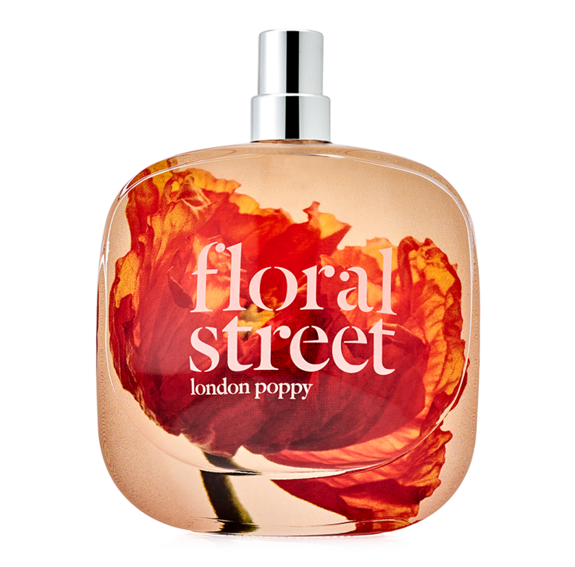 """<p>One look at the budding blood orange poppy on the front of Floral Street's London Poppy bottle makes you smile, and a spritz of the fresh, citrus floral scent prolongs the mood boost. Hints of zesty Sicilian lemon and Florida orange are balanced by salty marine accords that temper the zing for a versatile scent to be worn year-round.</p> <p><strong>$75 for 1.7 ounces</strong> (<a href=""""https://shop-links.co/1682658189661386382"""" rel=""""nofollow"""">Shop Now</a>)</p>"""