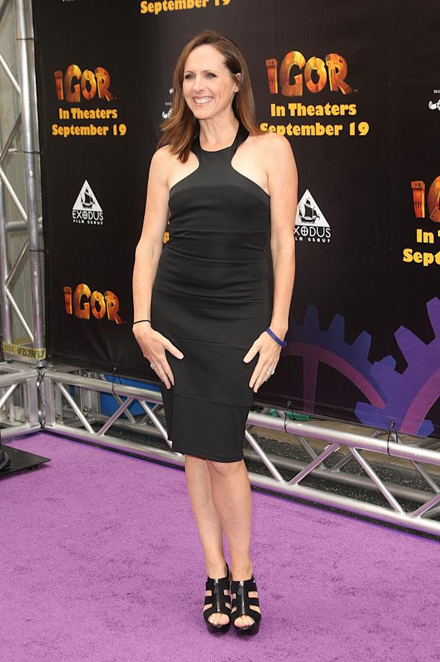 """<a href=""""http://movies.yahoo.com/movie/contributor/1800019210"""">Molly Shannon</a> at the Los Angeles Premiere of <a href=""""http://movies.yahoo.com/movie/1809860414/info"""">Igor</a> - 09/13/2008"""