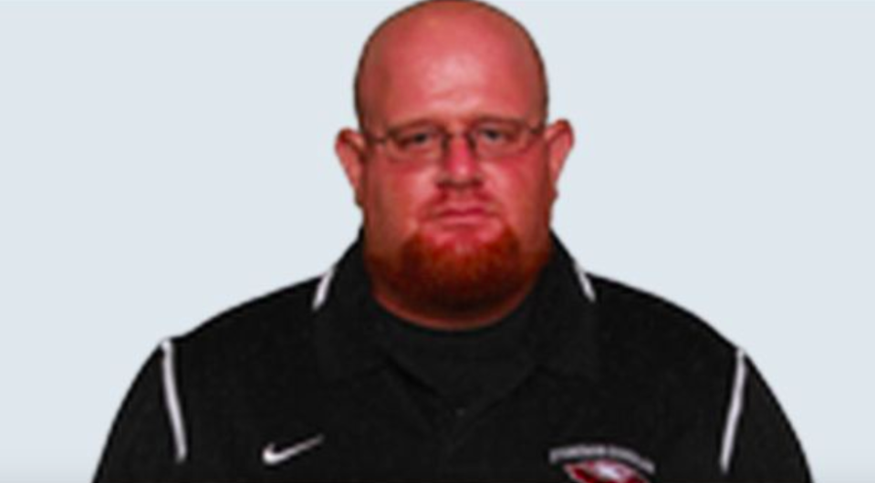 <em>Coach Aaron Feis died after using his body to protect children from bullets (Facebook)</em>