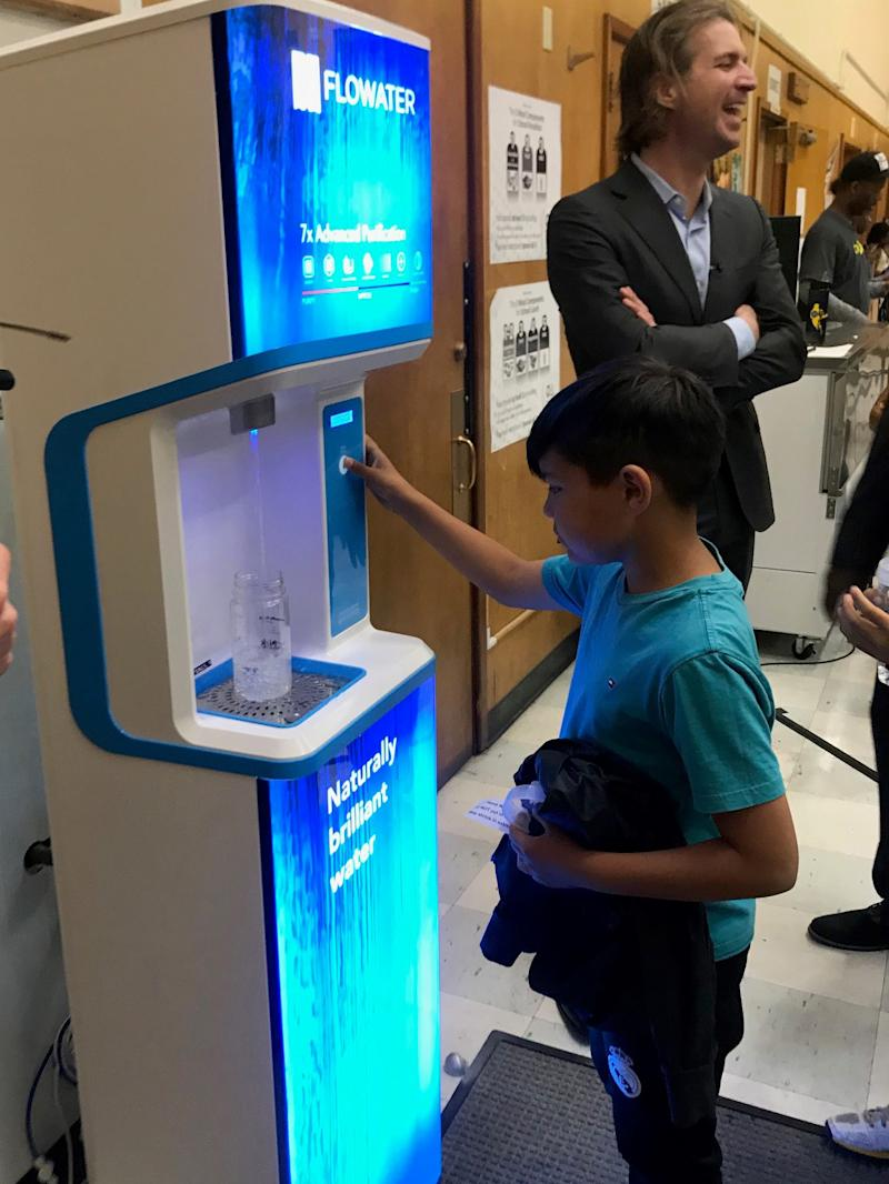 Oakland Schools Deploy New-Tech FloWater Refill Stations District