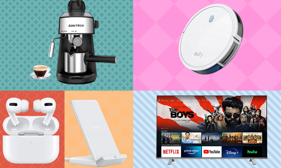 Score nearly 50 percent off everything from AirPods to espresso makers. (Photo: Amazon)