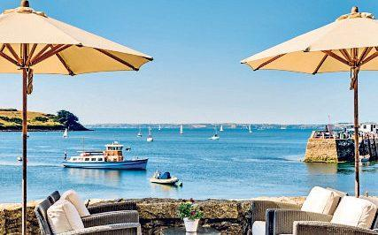 The terrace at The Idle Rocks is a brilliant place to stop by and have lunch with a sea view - The Idle Rocks