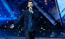 """This year's <em>Eurovision Song Contest </em>was held in Israel and to the surprise of absolutely no one,<a href=""""https://uk.news.yahoo.com/uk-act-blames-brexit-for-eurovision-flop-084535436.html"""" data-ylk=""""slk:the UK came last.;outcm:mb_qualified_link;_E:mb_qualified_link;ct:story;"""" class=""""link rapid-noclick-resp yahoo-link""""> the UK came last.</a> But the camp European romp has an enduring popularity in the country despite our constant misfortune that keeps viewers coming back year after year. This year's competition was won by the Netherlands while Madonna turned up for the half-time performance. (AP Photo/Sebastian Scheiner)"""