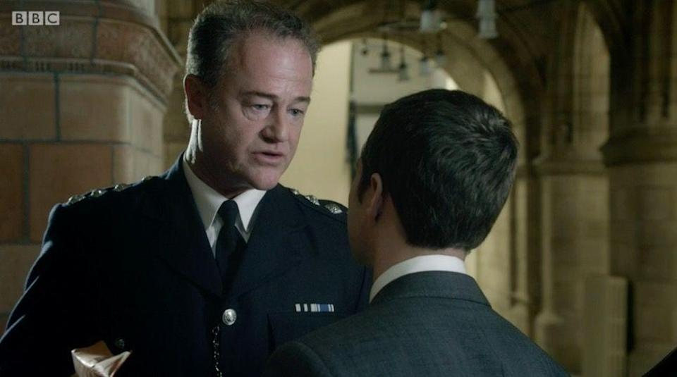 <p>We meet Chief Constable Philip Osborne in season 1, and discover he's corrupt from the start. </p><p> Before Steve Arnott is part of AC-12, he was an Authorised Firearms Officer, but when an anti-terror raid goes wrong, Osborne asks the team to lie and collaborate on a false story.</p>