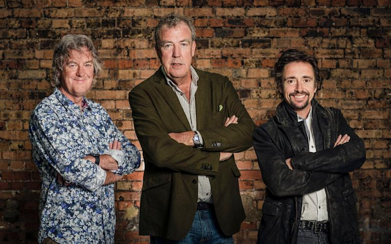 Richard Hammond now presents The Grand Tour with James May and Jeremy Clarkson - Credit: PA / Amazon Prime Video