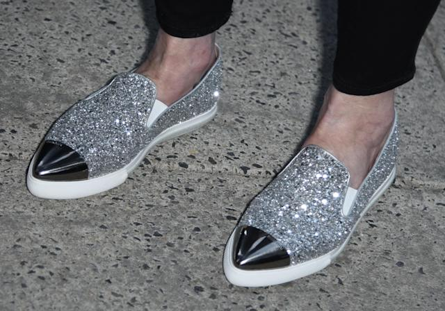 Lynda Carter's shoes, snapped at the premiere, deserve some attention for sure. (Photo: Splash News)