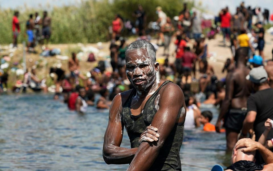 US dispatches 1000 border force officers as it scrambles to contain Haitian migrant crisis on Rio Grande - Eric Gay /AP