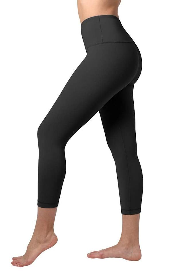 "<p>These <a href=""https://www.popsugar.com/buy/90-Degree%20by%20Reflex%20High-Waist%20Leggings-469670?p_name=90-Degree%20by%20Reflex%20High-Waist%20Leggings&retailer=amazon.com&price=20&evar1=fit%3Aus&evar9=46332016&evar98=https%3A%2F%2Fwww.popsugar.com%2Ffitness%2Fphoto-gallery%2F46332016%2Fimage%2F46332071%2FSweat-Wicking-Leggings&list1=workout%20clothes%2Cyoga%2Cworkouts%2Cfitness%20gear&prop13=api&pdata=1"" rel=""nofollow"" data-shoppable-link=""1"" target=""_blank"" class=""ga-track"" data-ga-category=""Related"" data-ga-label=""https://www.amazon.com/dp/B00TKM4JEC/ref=sspa_dk_detail_2?pd_rd_i=B07NLKT7MM&amp;pd_rd_w=EFPcO&amp;pf_rd_p=8dbd62ec-d8d3-48e5-b85d-16f701719d81&amp;pd_rd_wg=jpJtF&amp;pf_rd_r=TV1451FSTCNCMA9PXPC2&amp;pd_rd_r=1f3c3c55-9b24-11e9-8170-9d97d68298ac"" data-ga-action=""In-Line Links"">90-Degree by Reflex High-Waist Leggings</a> ($20) are perfectly breathable and flexible, so you can move in and out of poses with ease. They're made with nylon and spandex to wick away sweat.</p>"