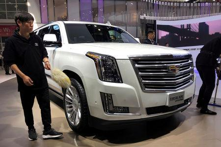General Motors's China vehicle sales growth rate eases in ...