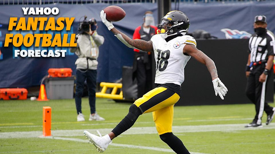 Diontae Johnson and the Steelers take on the Dallas Cowboys.