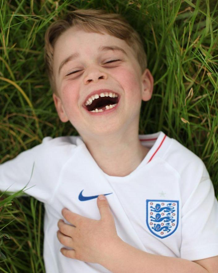 <p>In honor of the first born Cambridge's sixth birthday on July 22, Kensington Palace released three darling shots of Prince George taken by his mother, Kate Middleton, to celebrate.</p>