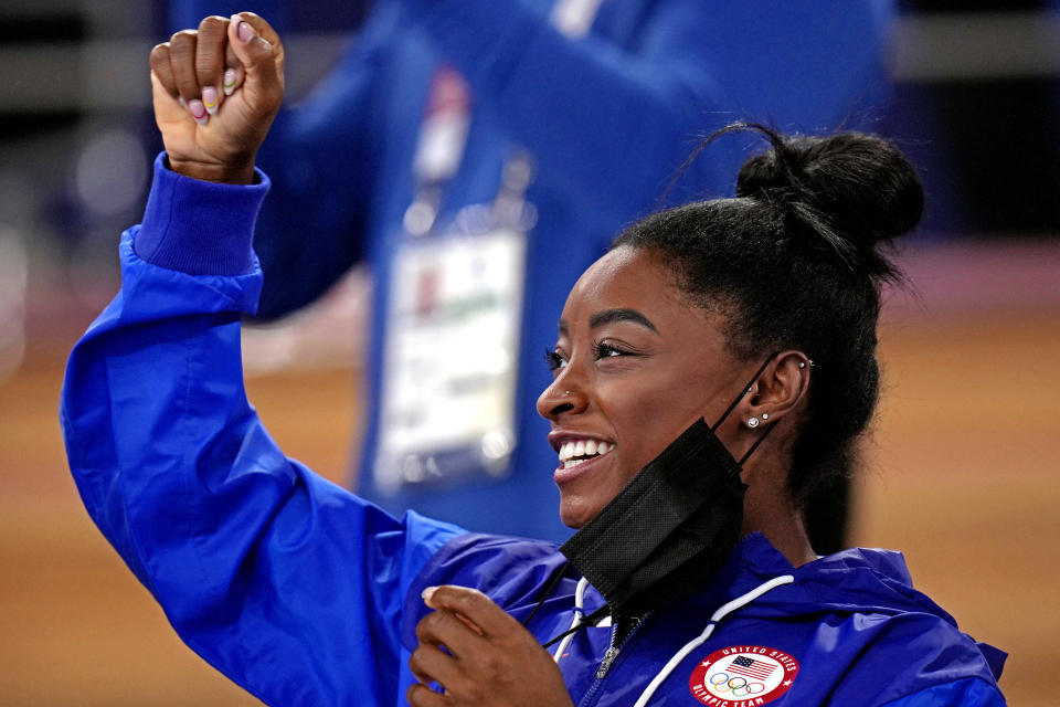 Every child in foster care and up for adoption deserves the chance to move in with a safe and stable family, from Simone Biles to non-gold medalists. (Danielle Parhizkaran-USA TODAY Sports)