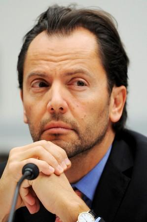 FILE PHOTO: Zingales testifies at a House Oversight and Government Reform Committee hearing on the Lehman Brothers bankruptcy in Washington
