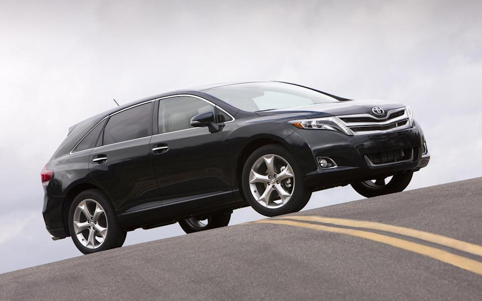 <p>Midsize Crossover/SUV, 3rd Place: 2008-2016 Toyota Venza (Motor Trend) </p>