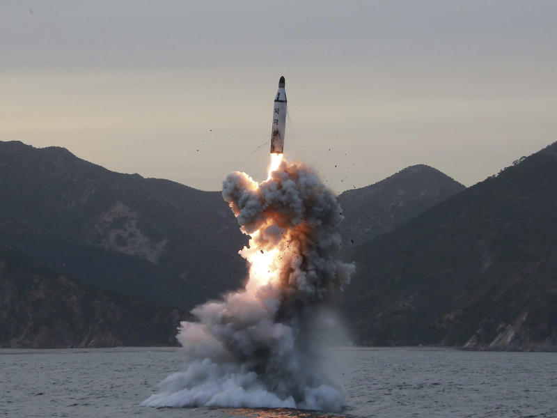 North Korea attempted to launch an