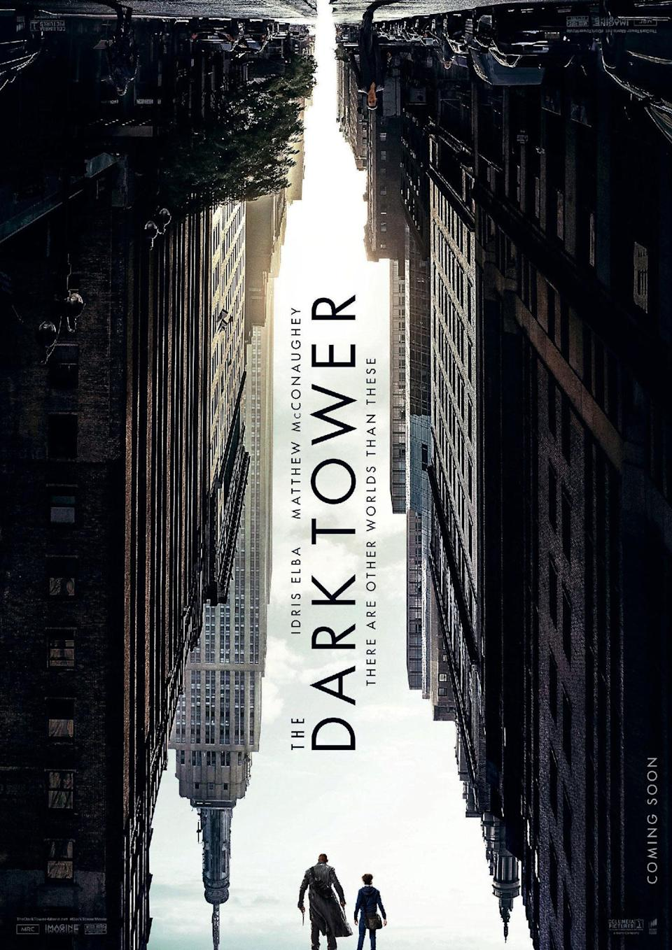 <p>Even in a banner year for Stephen King, 'The Dark Tower' bombed – but if the movie was half as captivating as this first teaser poster, maybe it would have found more of an audience. Neatly symbolising the inverse worlds of the story, it crafts an alternative universe Empire State Building from the negative space of our world. Oh, and it works upside down as well. </p>
