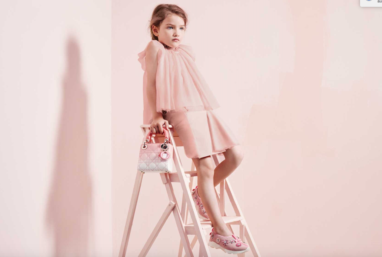 <div>Dress your child the French way with Dior's adorable kids line. The SS17 collection sees ballet-style dresses and pastel hues dominate the girls range while boys can opt for simple shorts and shirts. There's also a baby line if you're interested. Prices start from £160.<br /><i>[Photo: Dior]</i> </div>