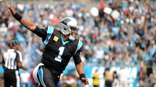 Cam Newton and the Panthers have a huge Thursday night showdown vs. Pittsburgh this week. (SI)