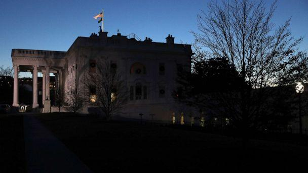 PHOTO: An exterior view of the White House is seen Dec. 18, 2019 in Washington, D.C., the day the U.S. House of Representatives is expected to vote on the two impeachment articles against President Donald Trump. (Alex Wong/Getty Images)
