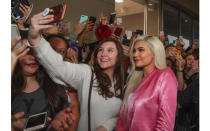 <p>Thanks to her legion of social media followers, Kylie Jenner undoubtedly changed the face of the celebrity endorsed beauty line forever.<br>Aged just 18, the youngest of the Kardashian clan launched three Lip Kits back in 2017 in a bid to fill a gap in the market and they famously sold out within a mere minutes. Fast-forward to 2019 and she now owns a 900 billion dollar business generating $420 dollars in the past 18 months alone – earning her a Forbes cover. <em>[Photo: Getty]</em> </p>