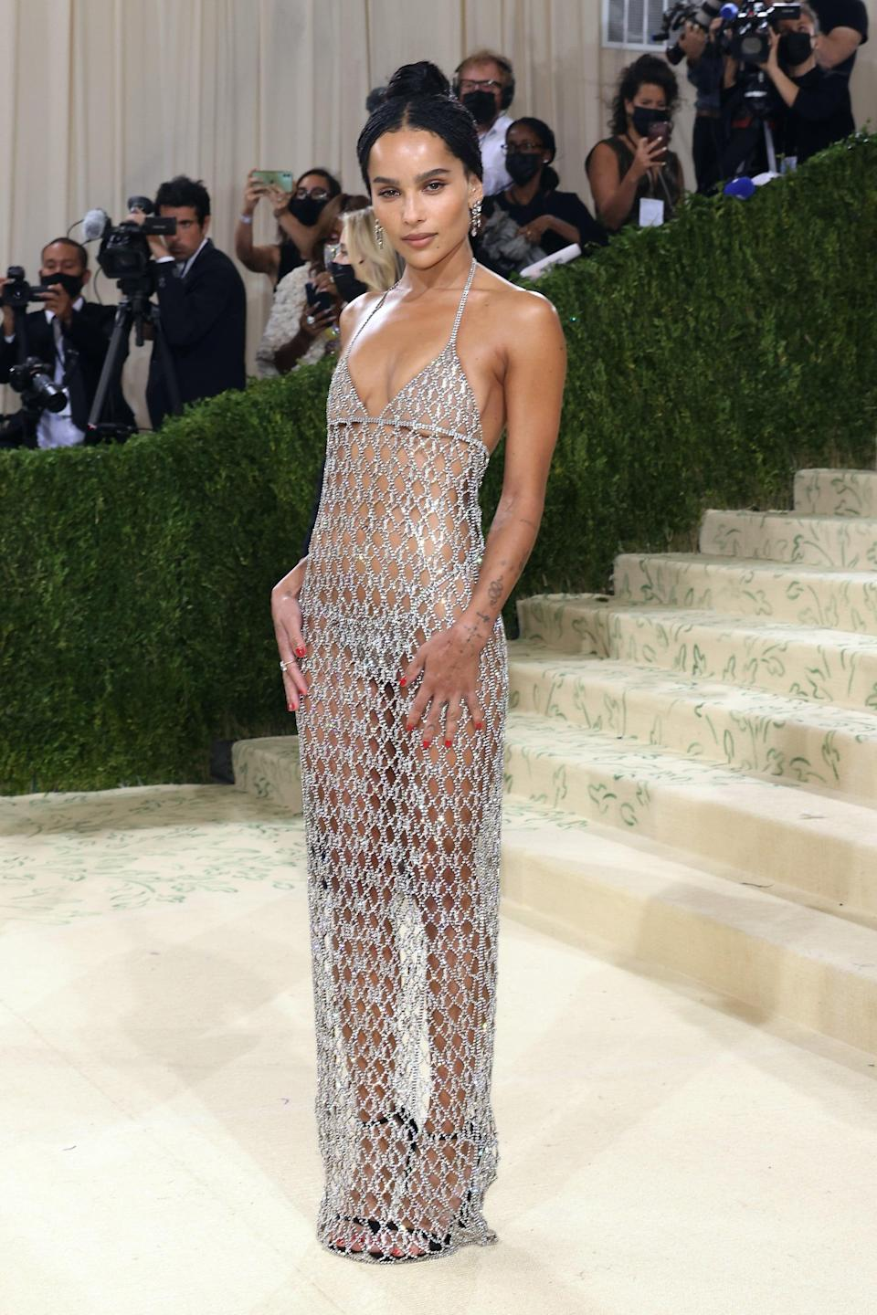 <p>Zoë Kravitz always brings the drama to her red-carpet dressing (don't let her casual everyday looks fool you). No matter what she wears, the actress always looks equal parts sexy and cool.</p>