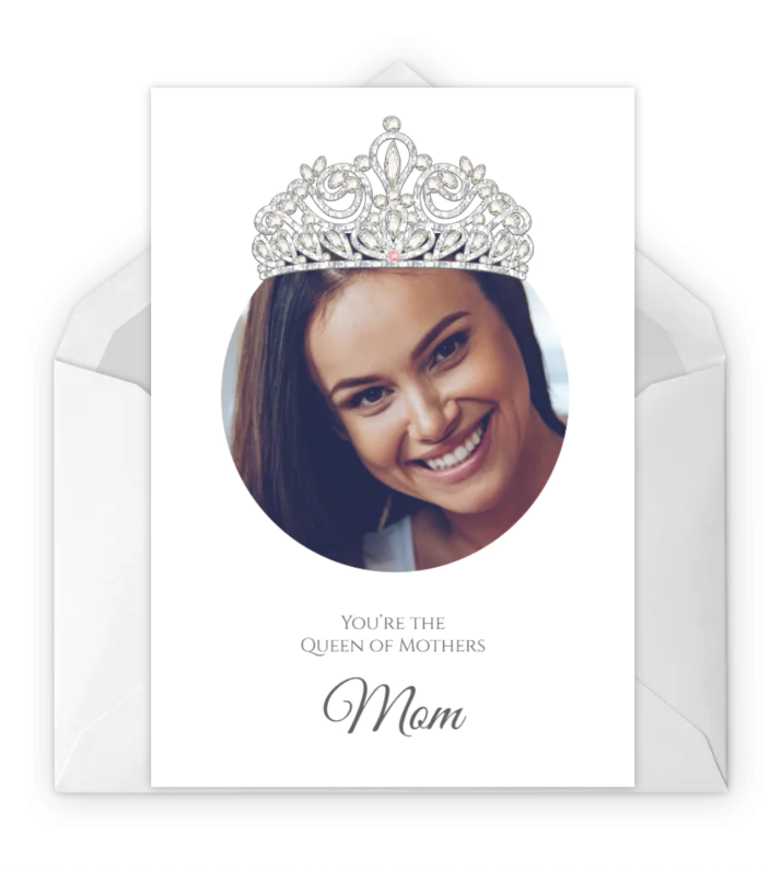 """<p>Treat your mother like royalty with this customizable card. Visit the link below to personalize it with Mom's photo.</p><p><em><strong>Get the printable at <a href=""""https://www.greetingsisland.com/preview/cards/queen-mother/91-12234"""" rel=""""nofollow noopener"""" target=""""_blank"""" data-ylk=""""slk:Greetings Island"""" class=""""link rapid-noclick-resp"""">Greetings Island</a>.</strong></em></p>"""