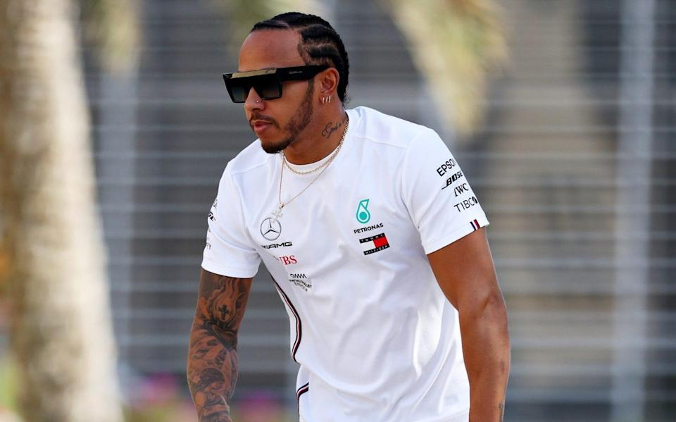 Lewis Hamilton was speaking ahead of the Bahrain GP - Getty Images Europe