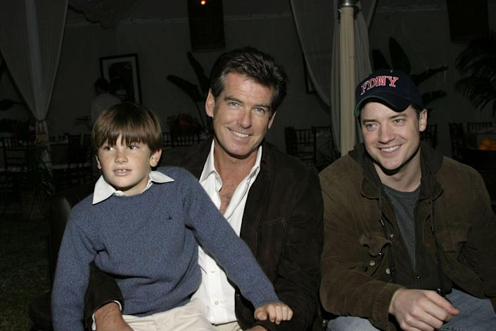 <p>Pierce Brosnan and Keely Shaye Smith welcomed their son Dylan Brosnan into the family on January 13, 1997. </p>