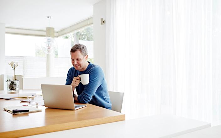Working from home - Ezra Bailey/Getty Images