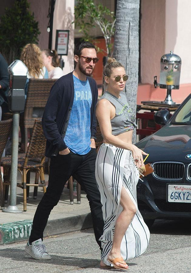 Kate and Danny were spotted strolling around LA. Source: MEGA